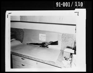 Primary view of object titled 'Rifle'.