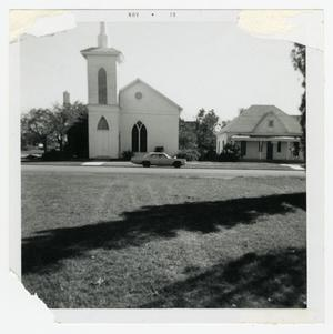 Primary view of object titled '[Pearsall Presbyterian Church Photograph #2]'.