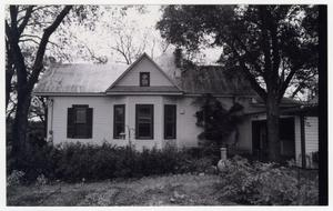 Primary view of object titled '[The Hofheinz House Photograph #4]'.