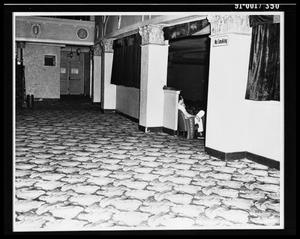 Primary view of object titled 'Lobby of Texas Theater [Print]'.