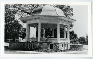 Primary view of object titled '[Main Plaza Bandstand Photograph #1]'.