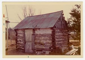 Primary view of object titled '[Pape Log Cabin Photograph #2]'.