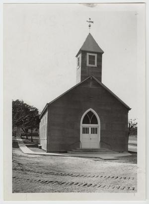 Primary view of object titled '[St. Paul Lutheran Church Photograph #1]'.