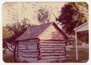 Primary view of object titled '[Pape Log Cabin Photograph #3]'.
