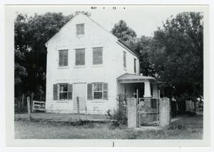 Primary view of object titled '[The Wilhelm Weidner Homestead Photograph #2]'.