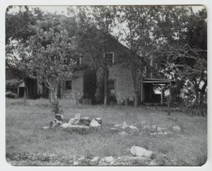 Primary view of object titled '[The Burrer Home Photograph #1]'.