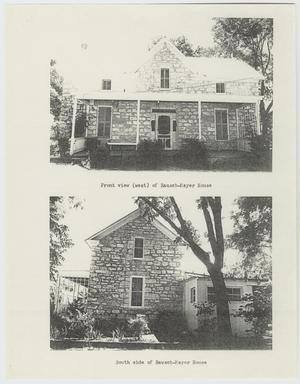 Primary view of object titled '[The William Rausch House Photograph #1]'.