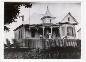 Primary view of object titled '[The Hofheinz House Photograph #1]'.