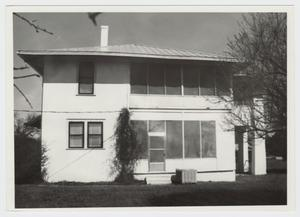 Primary view of object titled '[Watkins House Photograph #2]'.