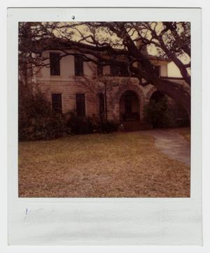 Primary view of object titled '[A. C. Schreiner, Jr. Home Photograph #4]'.