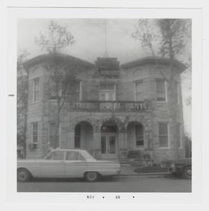 Primary view of object titled '[Kendall County Courthouse Photograph #1]'.