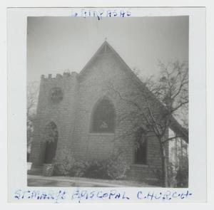 Primary view of object titled '[St. Mary's Episcopal Church Photograph #4]'.