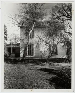 Primary view of object titled '[George Henry Talmadge Home Photograph #4]'.