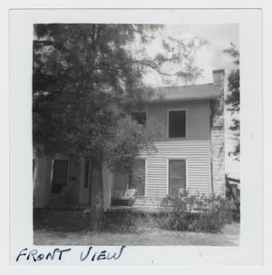 Primary view of object titled '[A. J. Northington House Photograph #3]'.
