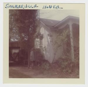 Primary view of object titled '[Summerville Home Photograph #3]'.