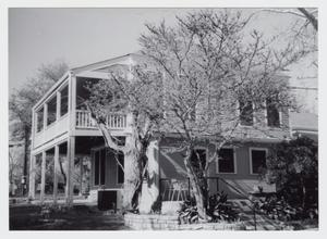Primary view of object titled '[Malone-Manuel House Photograph #4]'.