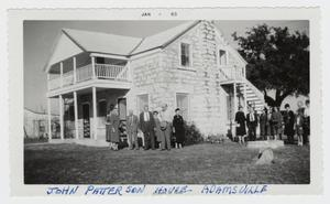 Primary view of object titled '[John Patterson House Photograph #1]'.