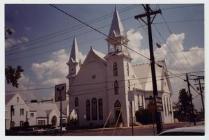 Primary view of object titled '[First United Methodist Church Photograph #2]'.