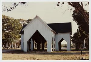 Primary view of object titled '[Cemetery Chapel Photograph #2]'.