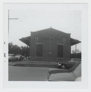 Primary view of object titled '[Santa Fe Depot Photograph #2]'.