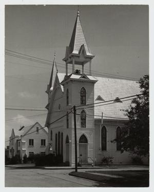 Primary view of object titled '[First United Methodist Church Photograph #1]'.