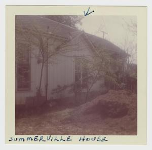 Primary view of object titled '[Summerville Home Photograph #1]'.