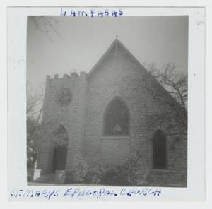Primary view of object titled '[St. Mary's Episcopal Church Photograph #3]'.