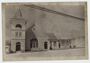 Primary view of object titled '[Central Christian Church of Lampasas Photograph #1]'.