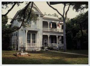 Primary view of object titled '[James Lafayette and Eliza Pitts Malone House Photograph #1]'.