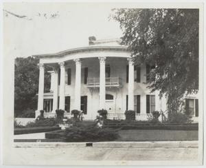 Primary view of object titled '[The Ike Wood House Photograph #1]'.
