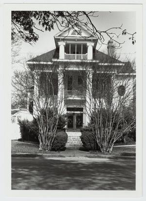 Primary view of object titled '[Augusta Hofheinz House Photograph #2]'.