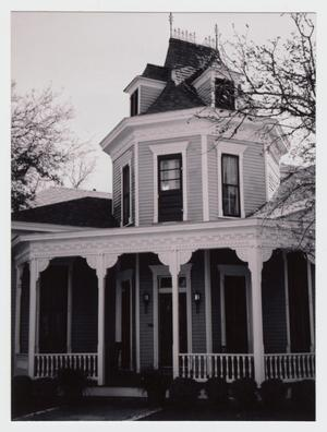 Primary view of object titled '[Malone-Manuel House Photograph #2]'.