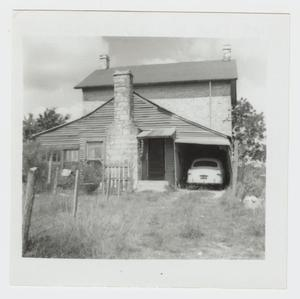 Primary view of object titled '[J. A. Adkins House Photograph #2]'.
