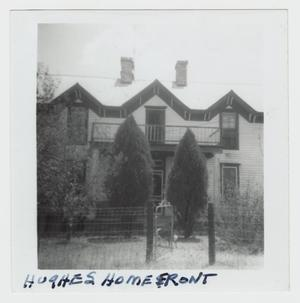 Primary view of object titled '[W. R. Hughes Home Photograph #2]'.
