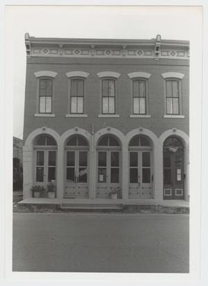 Primary view of object titled '[Phillips and Trosper Buildings Photograph #2]'.