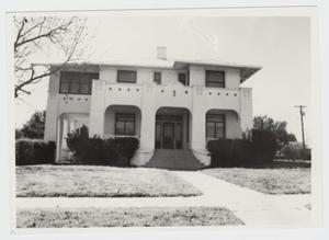 Primary view of object titled '[Watkins House Photograph #1]'.