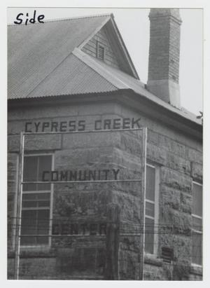 Primary view of object titled '[The Cypress Creek School Photograph #5]'.