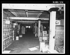 Primary view of object titled 'Boxes in the Texas School Book Depository [Print #2]'.