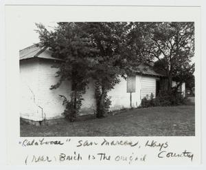 Primary view of object titled '[The Calaboose Photograph #2]'.