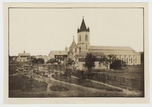 Primary view of object titled '[St. Louis Catholic Church Photograph #1]'.