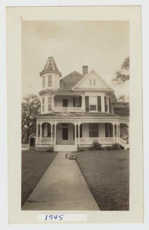 Primary view of object titled '[Heard-Baker House Photograph #2]'.