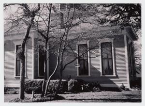 Primary view of object titled '[Malone-Manuel House Photograph #6]'.