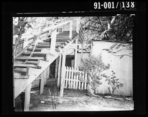 Primary view of object titled 'Back Yard of 214 Neeley Street #6'.