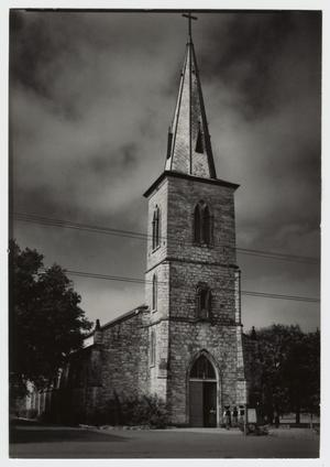 Primary view of object titled '[St. Louis Catholic Church Photograph #2]'.