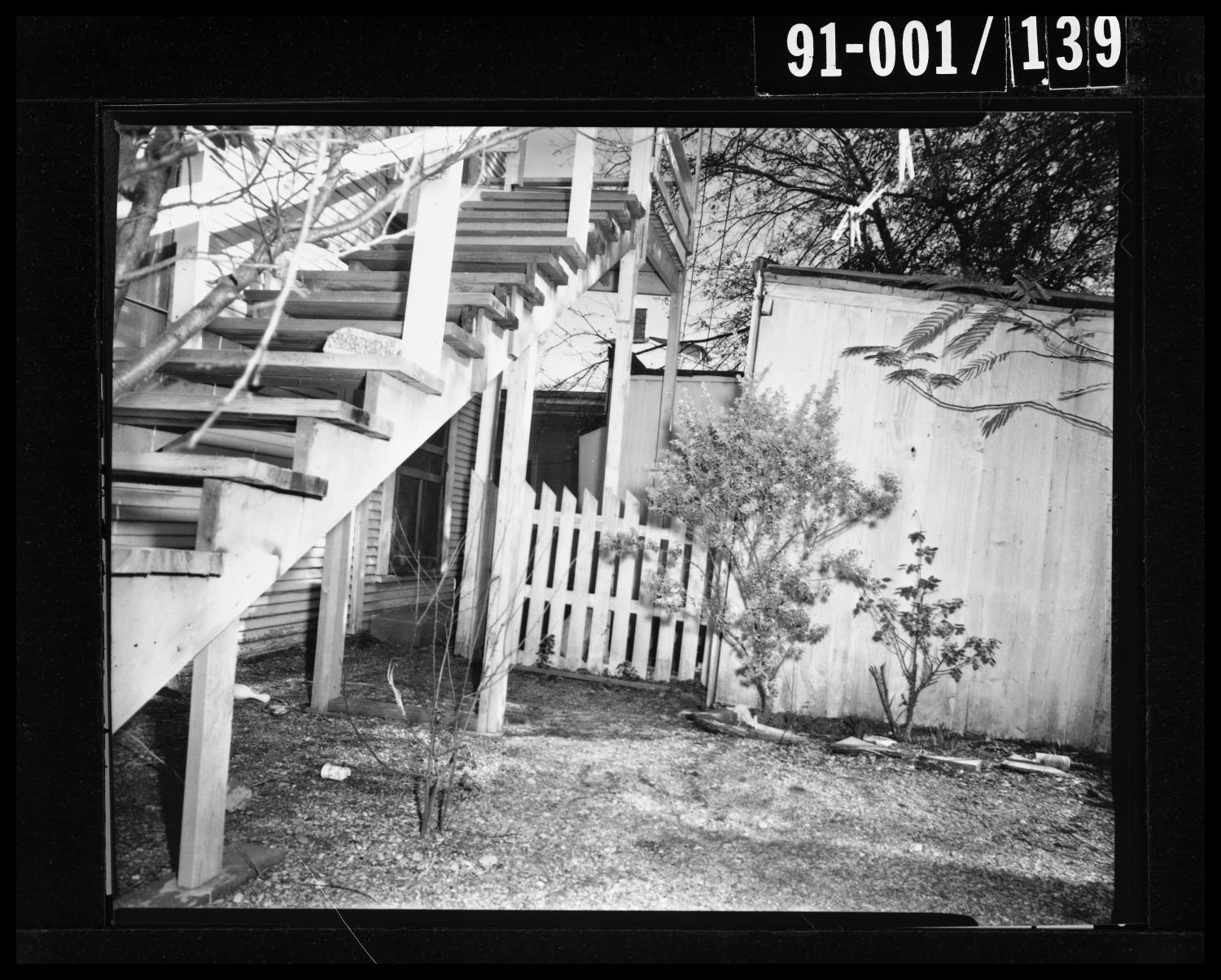 Back Yard of 214 Neeley Street #8                                                                                                      [Sequence #]: 1 of 1