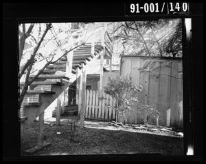 Primary view of object titled 'Back Yard of 214 Neeley Street #7'.
