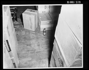 Boxes in the Texas School Book Depository [Print]