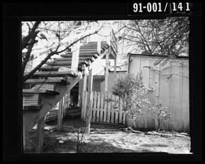 Primary view of object titled 'Back Yard of 214 Neeley Street #5'.