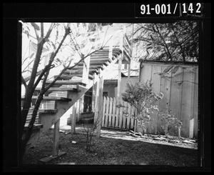 Primary view of object titled 'Back Yard of 214 Neeley Street #9'.