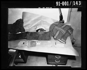 Primary view of object titled 'Evidence: FBI Items'.